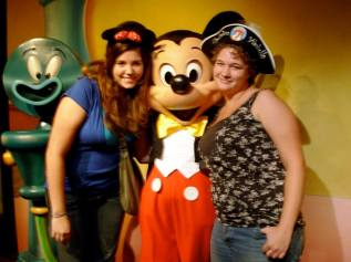 "When we ""accidentally"" met Mickey Mouse at Disneyland freshman year of college. We went into his deserted house to escape the cold late in the evening and couldn't believe he was actually there! (with no line!)"