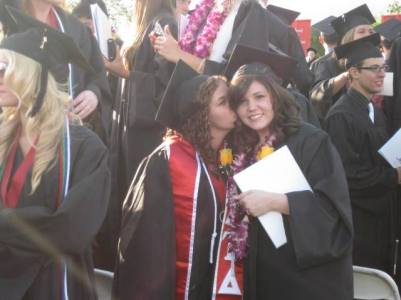 Us at college graduation in 2010.